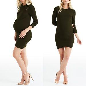 NWT Maternity-Friendly A.L.C. Dark Green Dress ALC